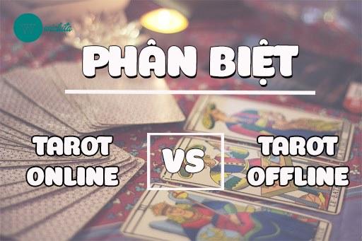 Cách Phân Biệt Tarot Online và Tarot Offline Chuẩn Nhất